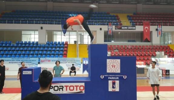 Cimnastikte hedef Parkur Yarışması düzenlemek