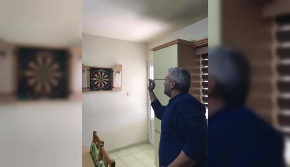 Davutoğlu: En güzel ev sporu darts