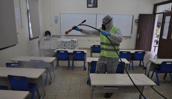 Değirmenlik Belediyesi'nde koronavirüsle mücadele yoğunluğu