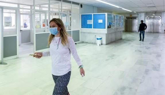 Güney Kıbrıs'ta Lefkoşa Genel Hastanesi Ortopedi Servisi'nde korona vakası