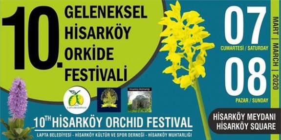 Hisarköy Orkide Festivali hafta sonu yapılıyor