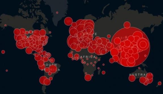 Koronavirüs dünya genelinde 500 bini aştı