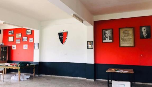 Kumyalı kulüp lokali yenilendi