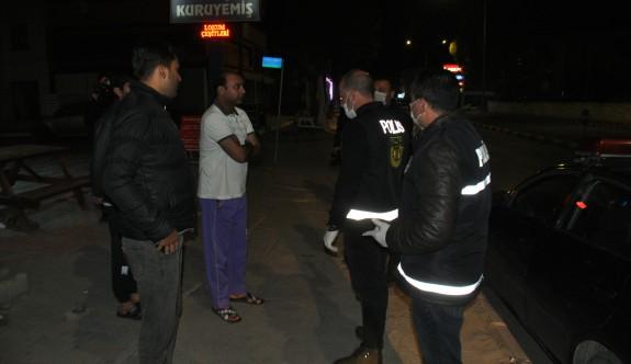 Mazeretsiz sokağa çıkan 42 kişi tutuklandı