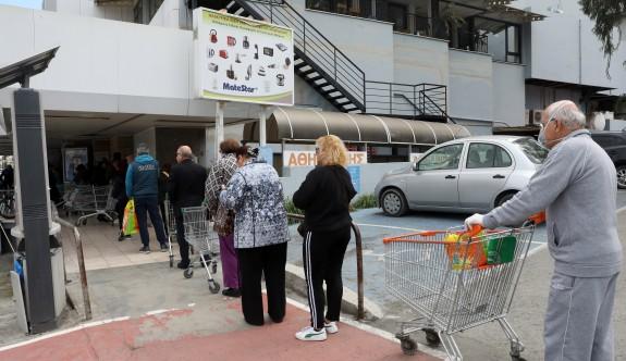 Rumlar market raflarını boşalttı