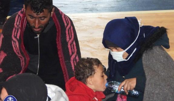 Suriyeli sığınmacılara hemen yardım eli uzandı