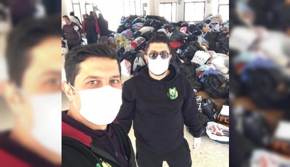 UltraCrows'dan mültecilere yardım