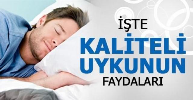Uykunun vücuda olan faydaları