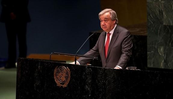 BM Genel Sekreteri Gutteres'ten çarpıcı rapor