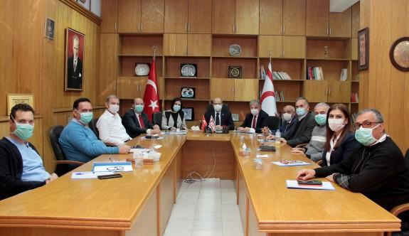 """Covid-19 Koordinayon Konseyi"" Sibel Siber başkanlığında toplandı"