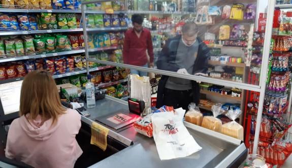 Gazimağusa Belediyesi'nden marketlerde örnek uygulama