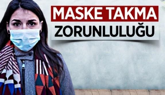 Girne Belediye hudutlarında maske takma zorunluluğu başlıyor