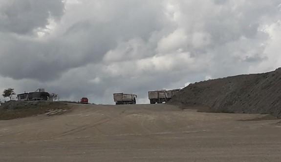 Hamitköy tepeleri mezarlık oluyor