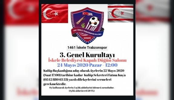 İskele Trabzonspor'un genel kurulu ertelendi