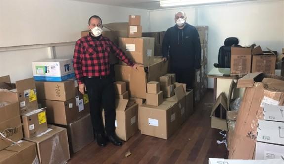 Kıbrıs Türk Otelciler Birliği'nden 5 adet ventilatör bağışı