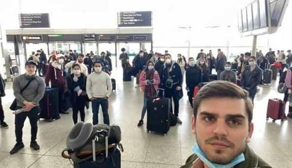 Londra'dan gelecek ilk grup yola çıktı