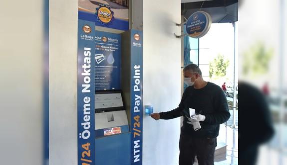 LTB 17 ATM'ye hijyen setleri yerleştirdi