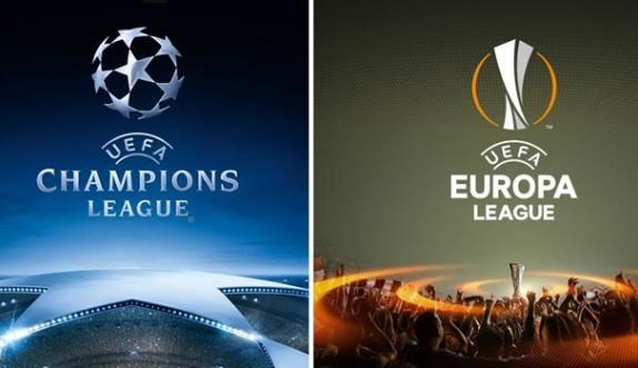 Şampiyonlar Ligi ve UEFA Avrupa Ligi askıya alındı