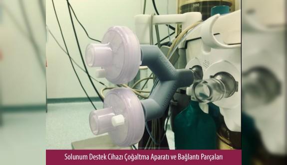 YDÜ, alternatif solunum cihazı üretti