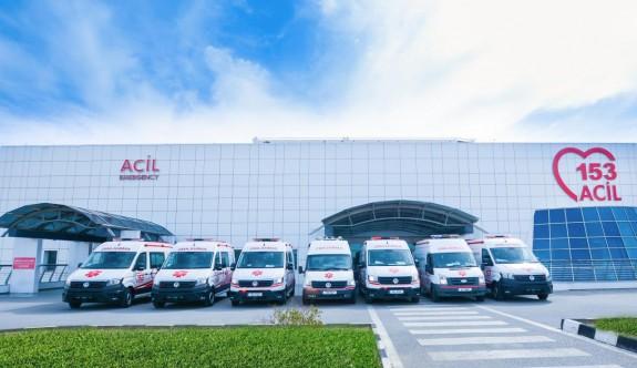 YDÜ, üç yeni ambulansı daha filosuna ekledi