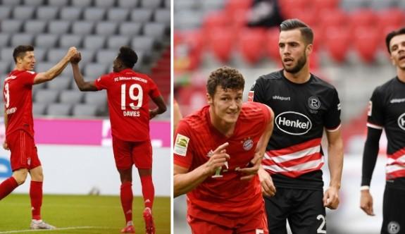 Bayern'den şampiyonluk yolunda dev bir adım