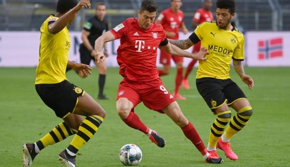 Bayern Munih'i Dortmund'ta durduramadı