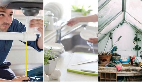 Evinizin Farklı Alanlarında Sık Sık Görülen Problemleri Önlemek İçin 23 Tüyo