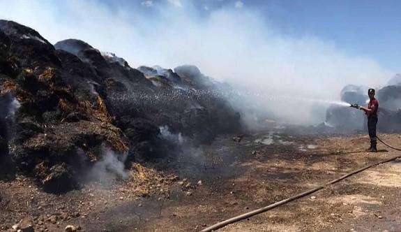 Gaziköy ve Serdarlı'da yangın