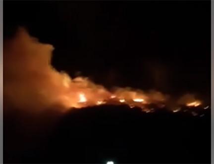 Geçitkale ve Kaleburnu'nda yangınlar korkuttu