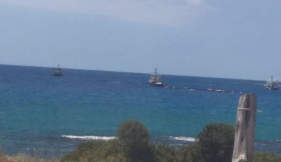 Gırgır ve Trol gemileri yine KKTC sularında