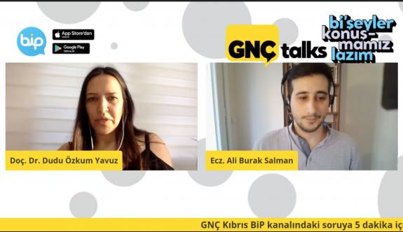 """""""GNÇ Talks"""" yoğun katılım ve ilgiyle takip edildi"""