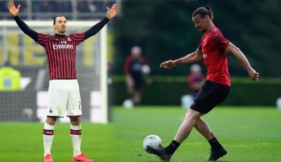 Milan'da Zlatan İbrahimovic şoku