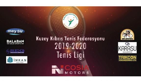 Nicosia Motors Tenis Ligi kaldığı yerden devam