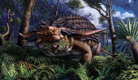 """110 milyon yıl önce ölen dinozorun """"son akşam yemeği"""""""