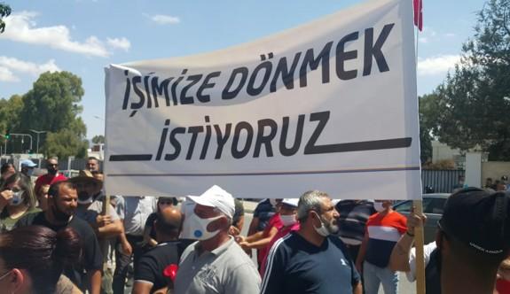 Eylemciler Meclis önünde kalma kararı aldı