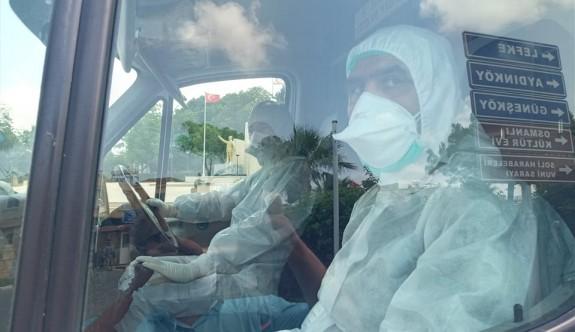 Gaziveren'de karantina paniği