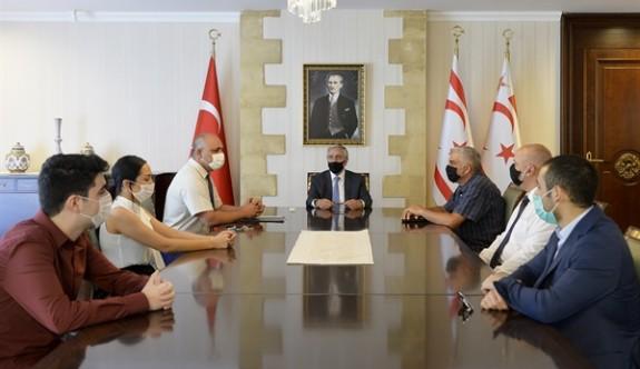 Satranç Federasyonu'ndan Cumhurbaşkanına ziyaret