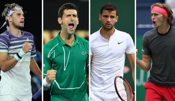 Tenisin yıldızları Belgrad'da kortlara dönüyor