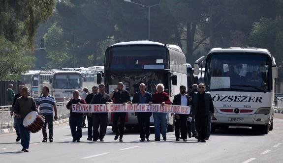 Toplu taşımacılıkta süresiz eylem hazırlığı