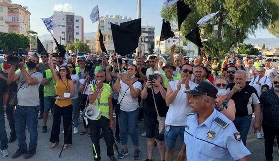 Birleşik Eylem Komitesi, Başbakanlık önünde eylem başlattı