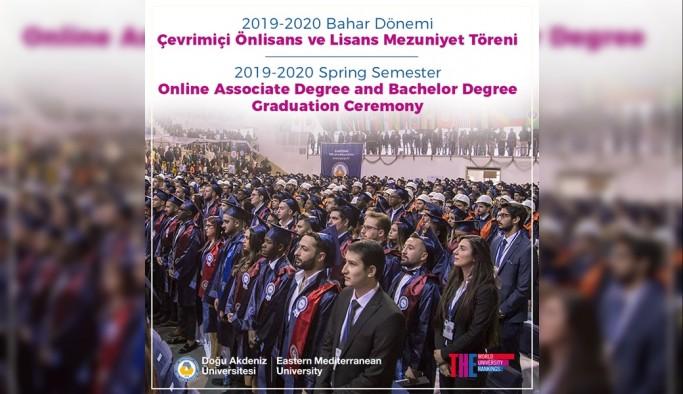 DAÜ'den 2 bin 232 önlisans, lisans ve lisansüstü mezunu daha