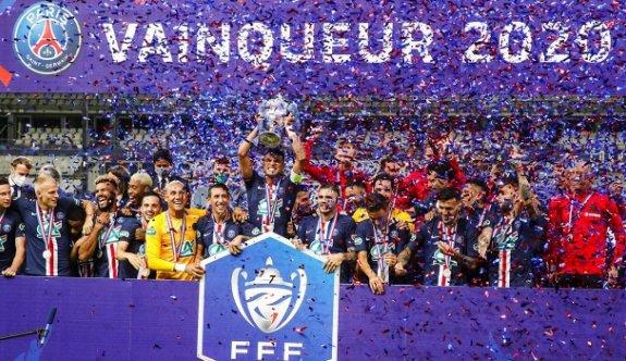 Fransa Kupası PSG'nin