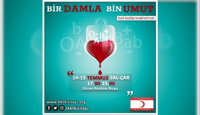 Kızılay, kan bağışı kampanyalarını sürdürüyor