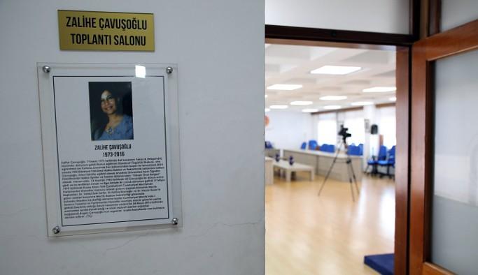 Meclis Mavi Salonu'na merhum çalışanın adı verildi