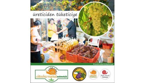 Mehmetçik'te Cittaslow Market kuruluyor