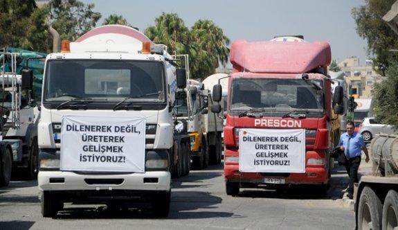 Mütahitler Birliği'nin araçlı eylemi devam ediyor