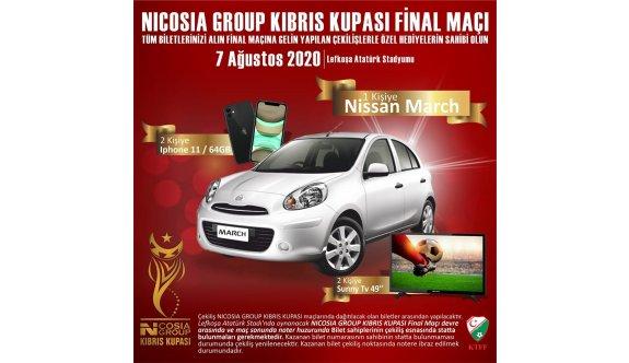Nicosia Group'tan büyük organizasyon ve zengin hediyeler
