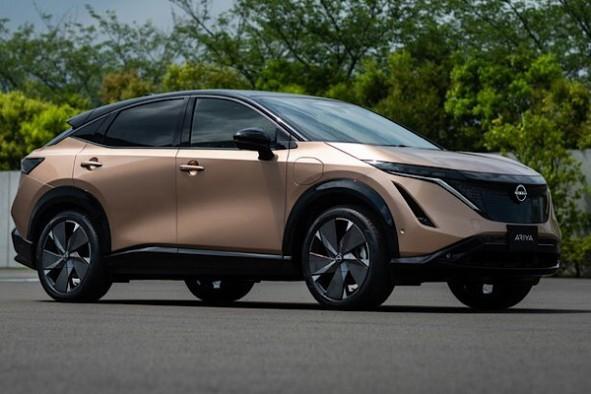 Nissan'ın elektrikli SUV modeli Ariya görücüye çıktı