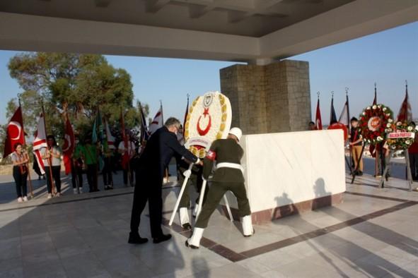 """""""Öncülüğünüzde yürütülen mücadele Kıbrıs Türk toplumunun bugünlere ulaşmasında en temel unsurdur"""""""