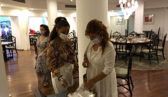 Palm Beach Hotel'de önlemler harfiyen uygulanıyor